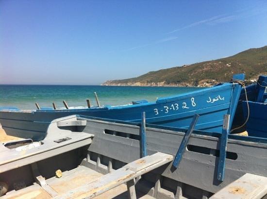Tanger, Maroc: très belle plage
