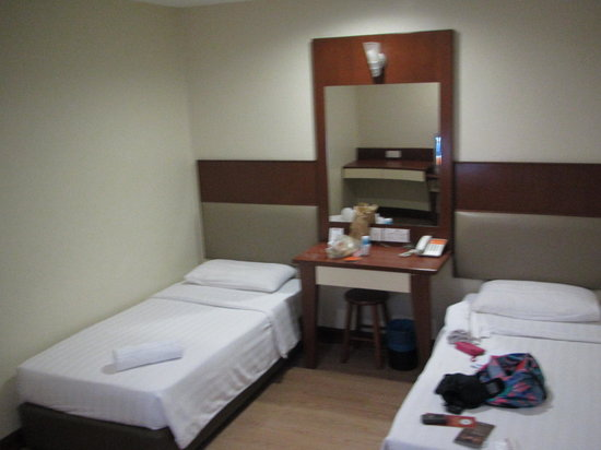 Fenix Inn: double bed