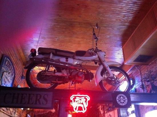 Pioneer Pub: pub decor
