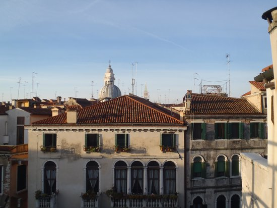 Palazzo Schiavoni: View from the private roof top deck