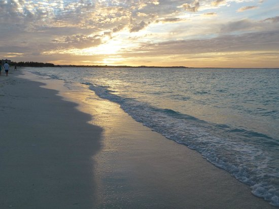 Sands at Grace Bay: End of another day in paradise