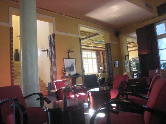 La Residence Hue Hotel & Spa - MGallery by Sofitel: The bar/lobby...
