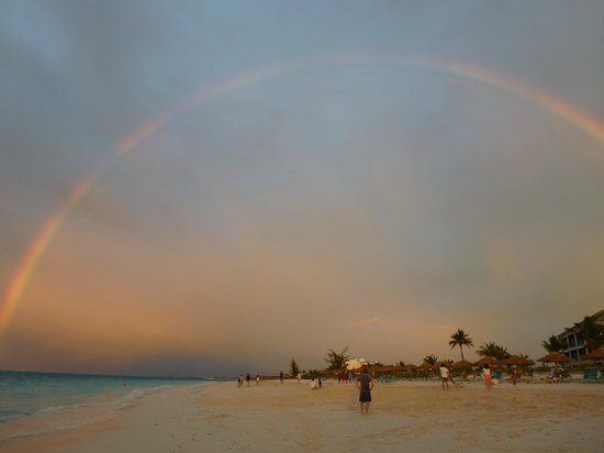 Sands at Grace Bay: The best - a rainbow without the rain