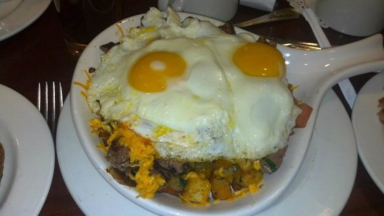 Brunch Cafe: Custom Ordered Steak Skillet
