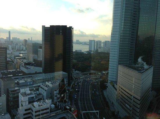 Mitsui Garden Hotel Ginza Premier: View from 21st floor