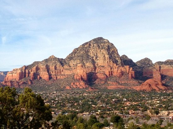 Sedona Views Bed and Breakfast: Sedona is so beautiful.