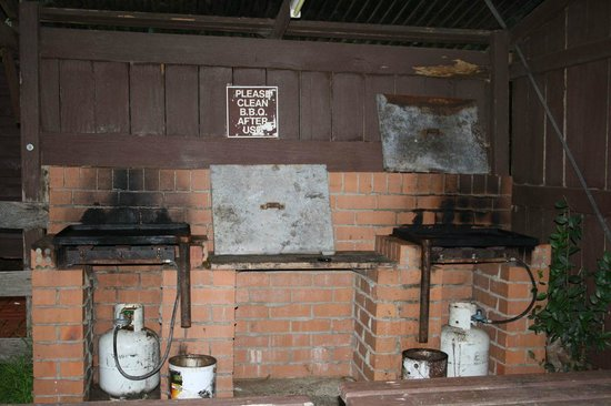 Dorrigo, Avustralya: BBQ area, I have seen better....