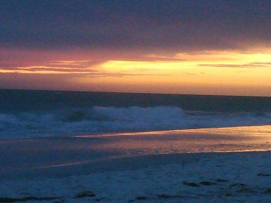 sunset on beach across from holiday inn lido beach picture of rh tripadvisor com sg