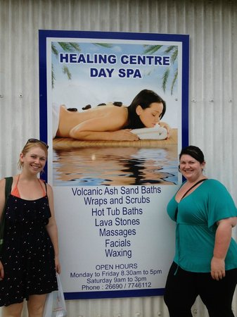 Volcanic Earth Healing Centre Spa : This is the place  to go :)