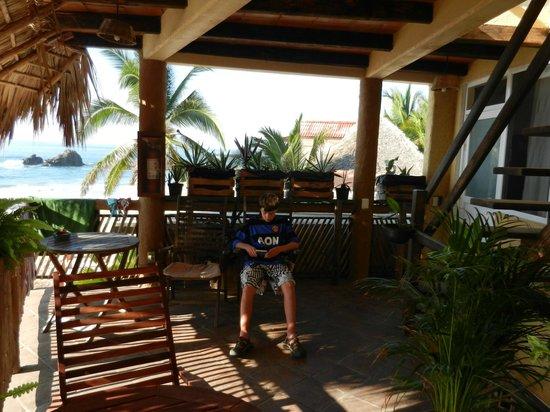 La Mora Posada: The balcony