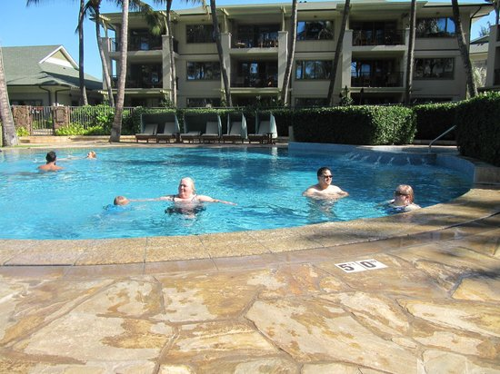 Turtle Bay Condos : Our private pool