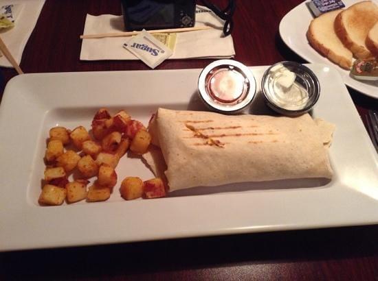 Stonewalls: breakfast burrito