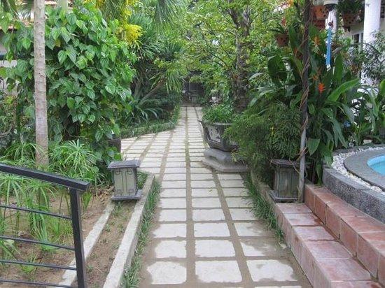 Botanic Garden Homestay: Garden path
