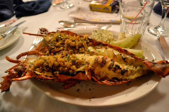 The Hermitage Plantation Inn: Lobster!
