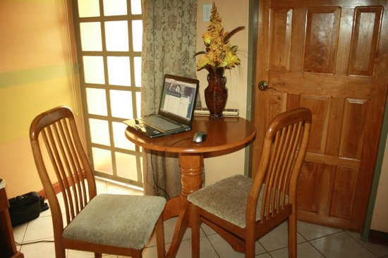 Native Abode: we had a time with the free and very fast wifi
