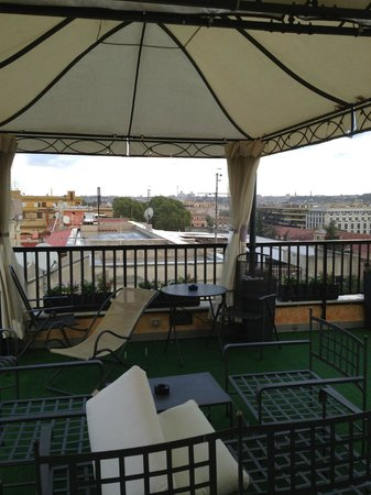 Trilussa Palace Congress & Spa: Rooftop Deck - View 2