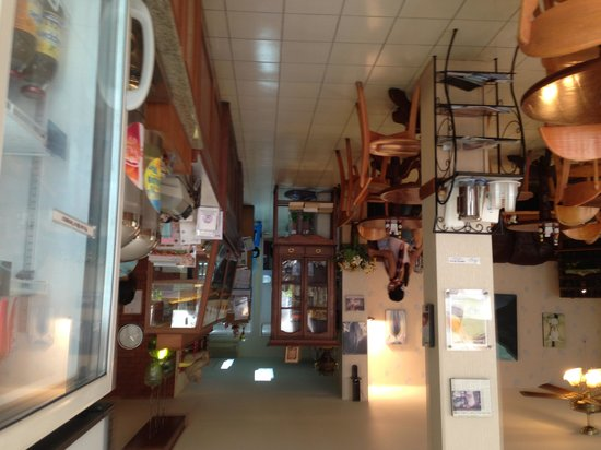 Sandwich Shoppe: Interno