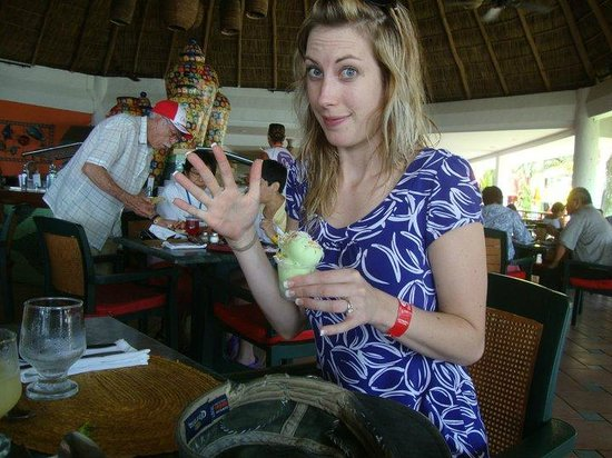 Royal Decameron Complex: best key lime icecream ever