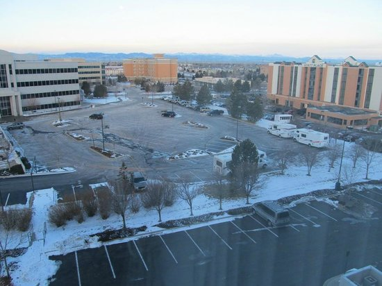 Hilton Garden Inn Denver Airport: View from room at 6th floor.