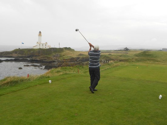 Turnberry Resort Golf Courses: 9th Tee @ Turnberry