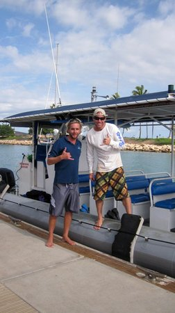 Ko Olina Ocean Adventures: Capt Spencer and First Mate Dan