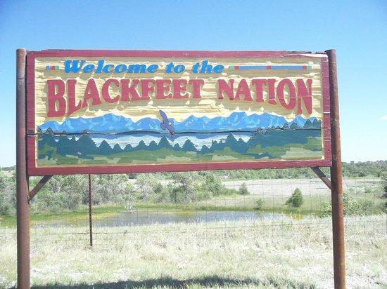Blackfeet Indian Reservation: rather depressing at times