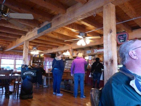 Apple Valley Cafe : Apple Valley Kitchen interior