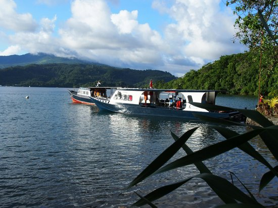 NAD-Lembeh Resort: NAD dive boats...