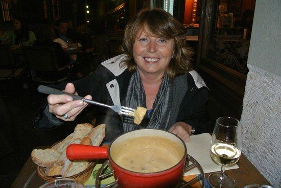 Brasserie de l'Hotel de Ville : Cheese Fondue