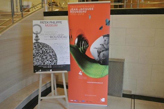 Patek Philippe Museum: Museum lobby