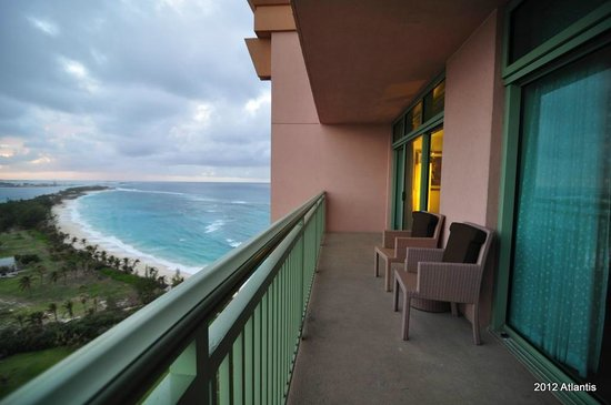 The Reef Atlantis, Autograph Collection: Balcony view.