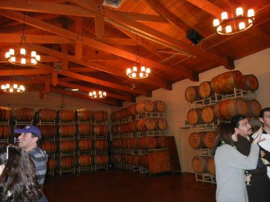 Ponte Vineyard Inn: The Barrel Room at the winery