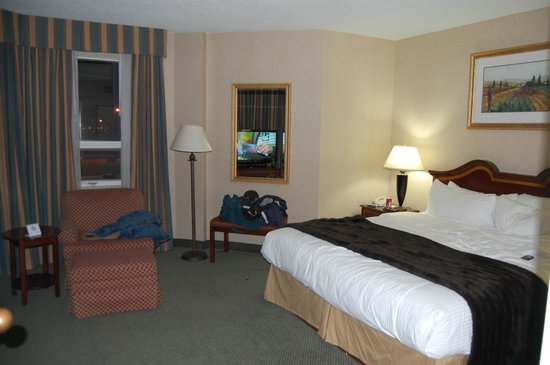Sawridge Inn and Conference Centre Edmonton South : King Bedroom