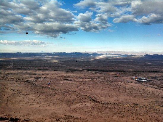 Hot Air Expeditions: beautiful flight!