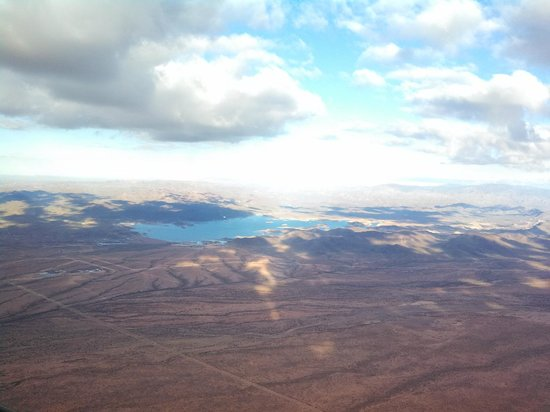 Hot Air Expeditions: Lake Pleasant and looking northeast