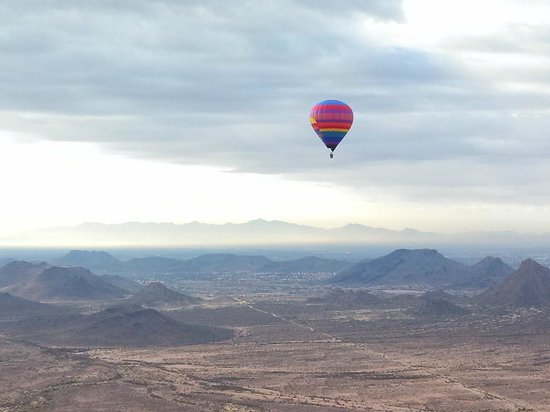 Hot Air Expeditions: great views from up here!