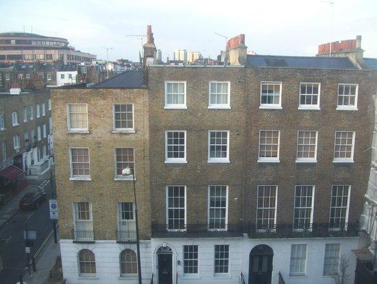 Americana Hotel: vue de notre chambre