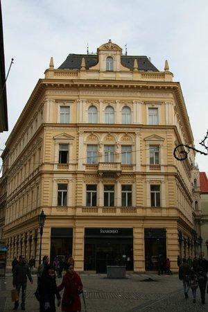 Ventana Hotel Prague: Hotel facade