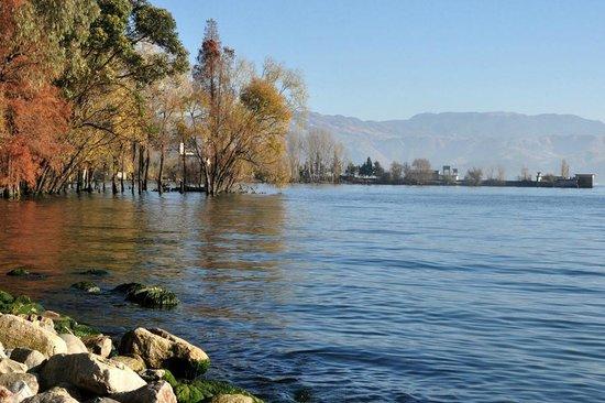 Dali, Erhai Lake in Winter