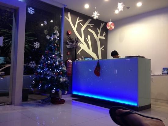 Hii-5 Hotel : Reception area