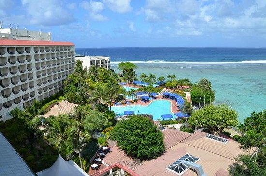 Hilton Guam Resort: View from Main Tower Suite