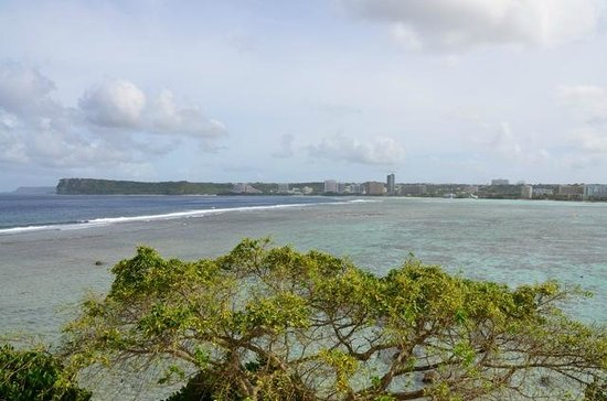Hilton Guam Resort: View from Tsai Club Royal Suite