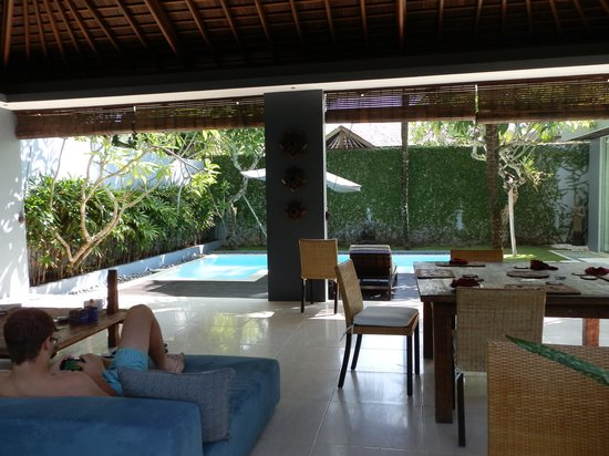 Kembali Villas: View from the lounge
