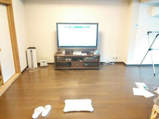 Wellnessnomori Ito : テレビとwii