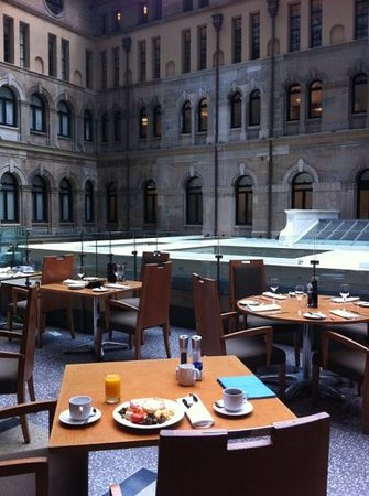 breakfast at the Westin Sydney