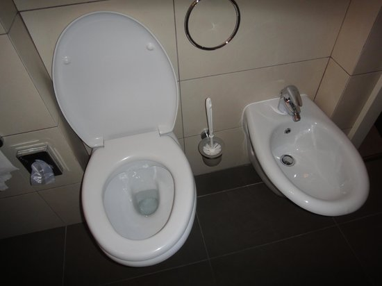 Hotel Sovereign: toilet and Bidet