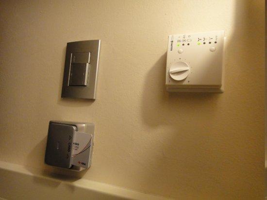 Hotel Sovereign: temperature Control 
