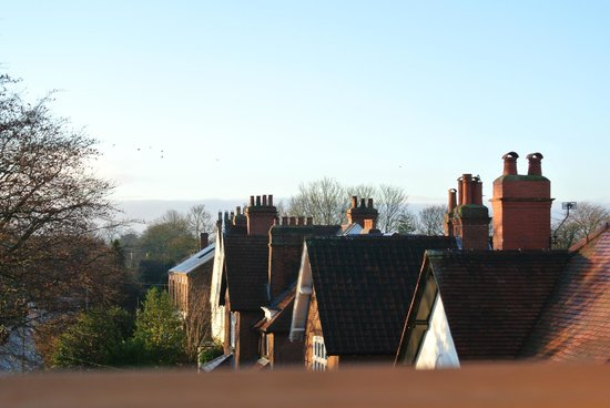 Bentham Lodge Guest House: view from the window loft