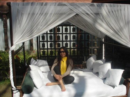 Dwarika's Hotel: The Lounger by the pool