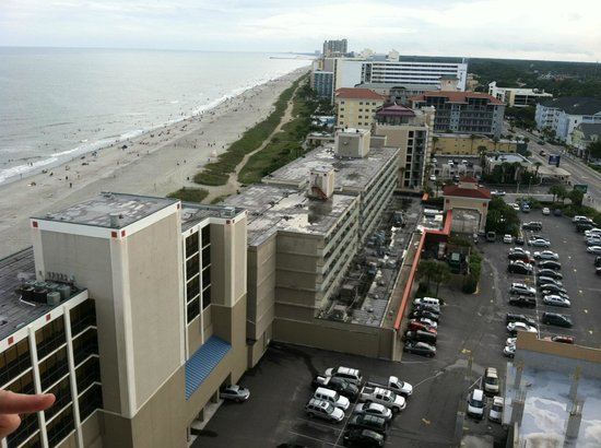 Westgate Myrtle Beach Oceanfront Resort: bedroom balcony view